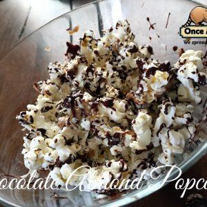 almond joy popcorn